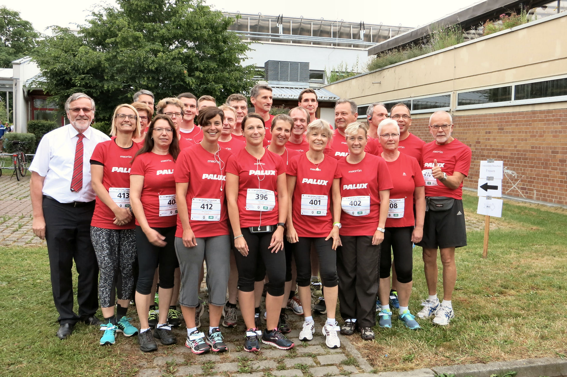 PALUX participated at the pany Run in Igersheim