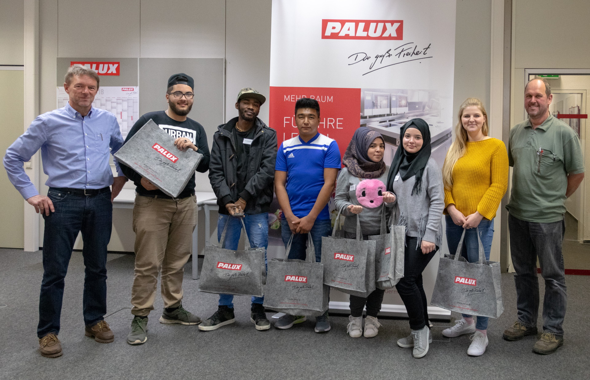 Integration is important to PALUX AG