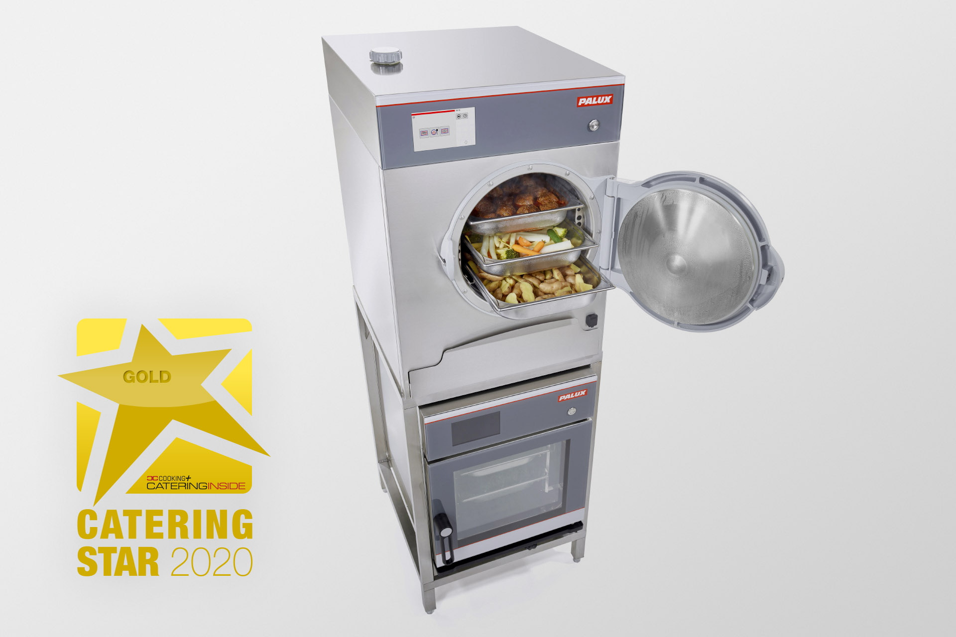 Catering Star 2020 in Gold für das PALUX SteamTeam